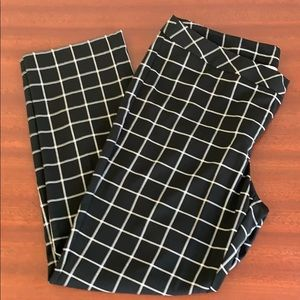 Worthington trousers plaid